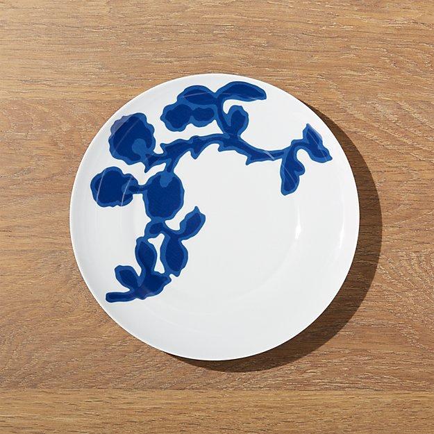 Indigo Vine Salad Plate - Image 1 of 3