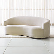 Marvelous Curved Sofas Crate And Barrel Andrewgaddart Wooden Chair Designs For Living Room Andrewgaddartcom