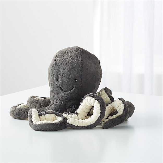 Jellycat Black Inky Octopus Reviews Crate And Barrel
