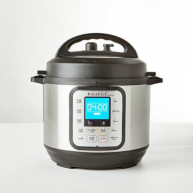Instant Pot 3 Qt Duo Nova Mini Electric Pressure Cooker