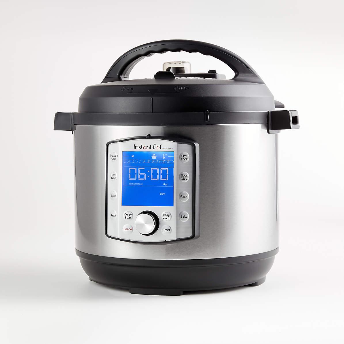 3,6,8 Quart Pressure Cooker Genuine Instant Pot Stainless Steel Inner Cooking