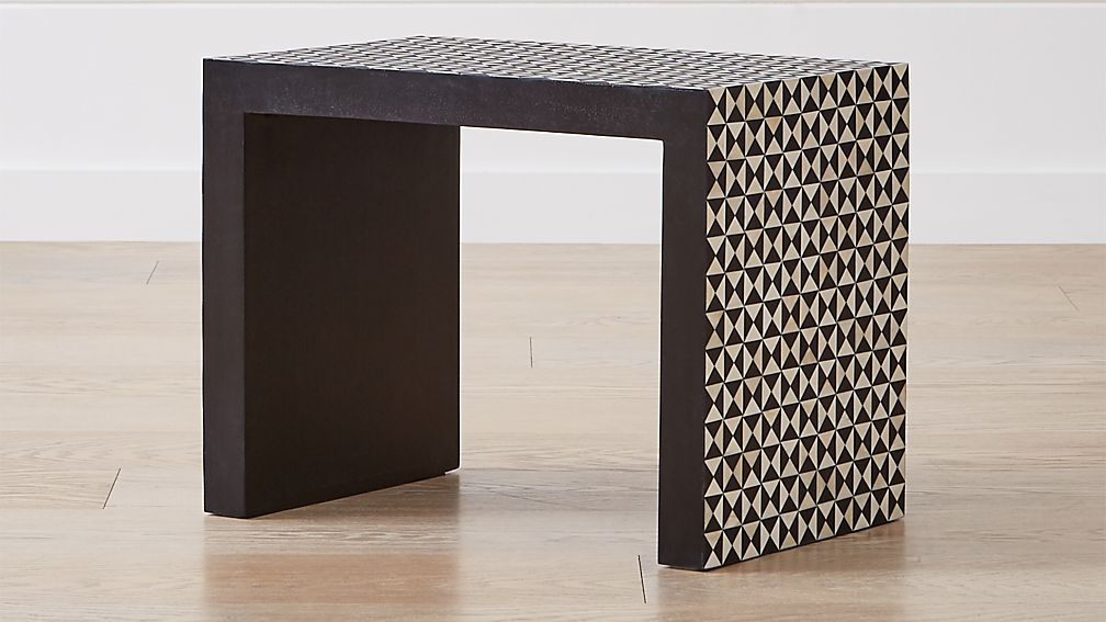 Intarsia Black C Table - Image 1 of 8