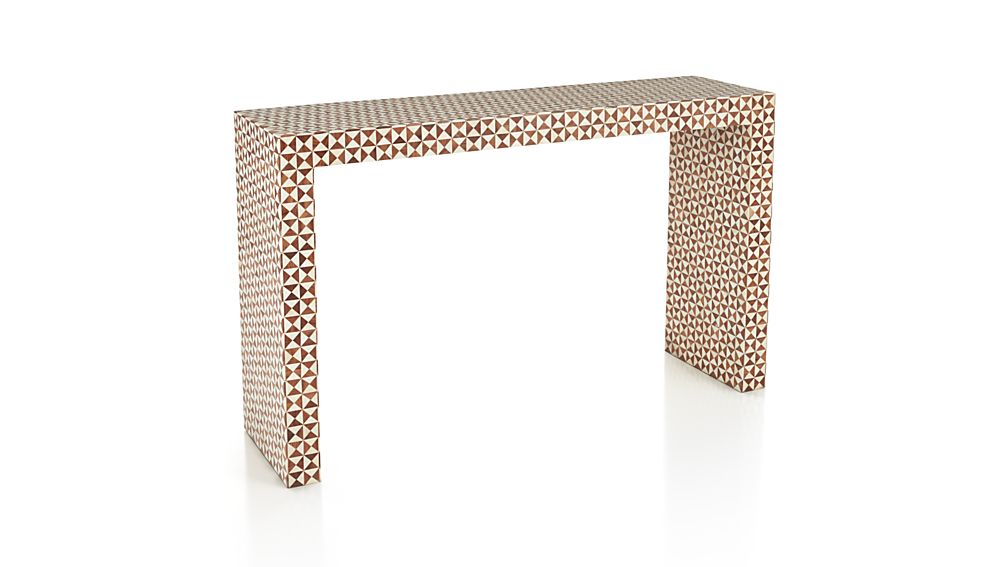 Intarsia Console Table