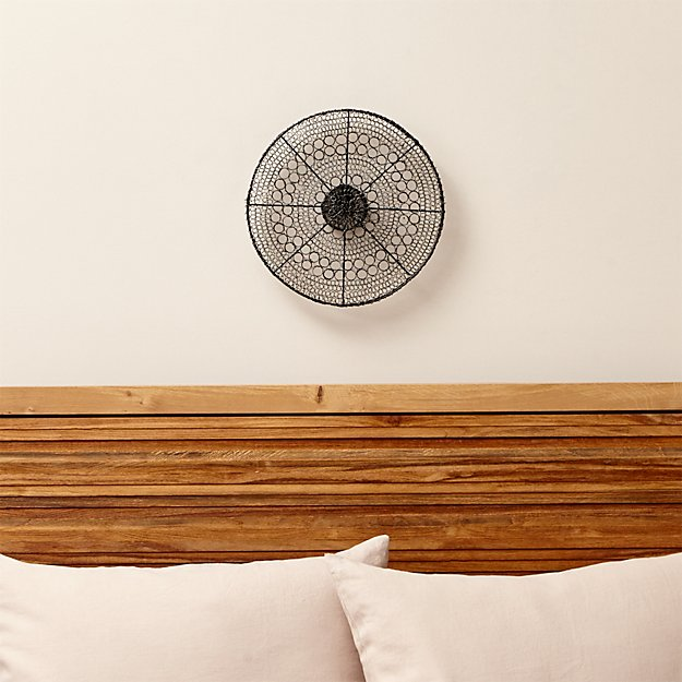 intricate circle small metal wall art crate and barrel. Black Bedroom Furniture Sets. Home Design Ideas