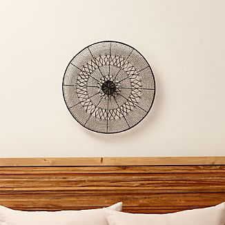 Intricate Circle Large Metal Wall Art