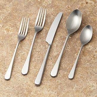 Iona Satin 20-Piece Flatware Place Setting