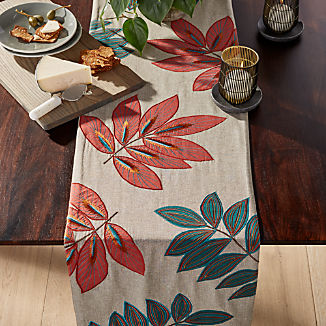 Isadora Botanical Table Runner
