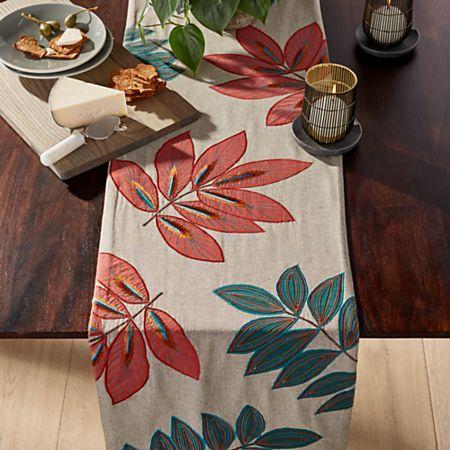 Isadora Botanical Table Runner