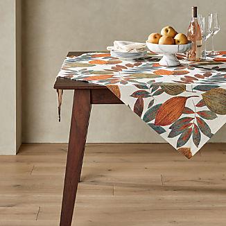 "Isadora 50"" Botanical Table Throw"