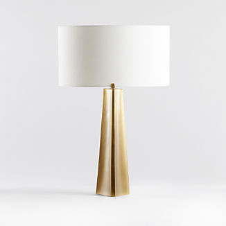 Isla Brass Triangle Table Lamp