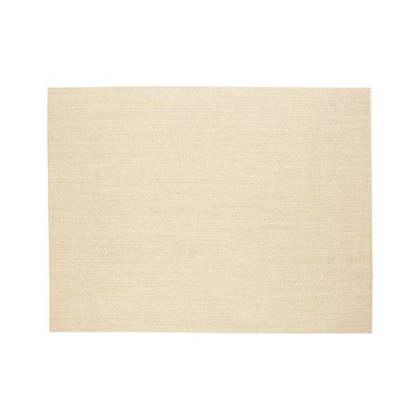 Island Chevron Cream 9'x12' Rug