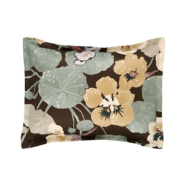 Iso Krassi Brown Standard Pillow Sham