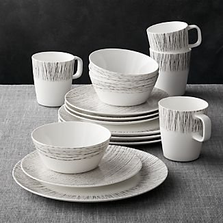Bone China Dinnerware Crate And Barrel