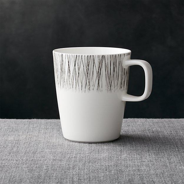 Artistic Coffee Mug In Bone China Reviews Crate And Barrel
