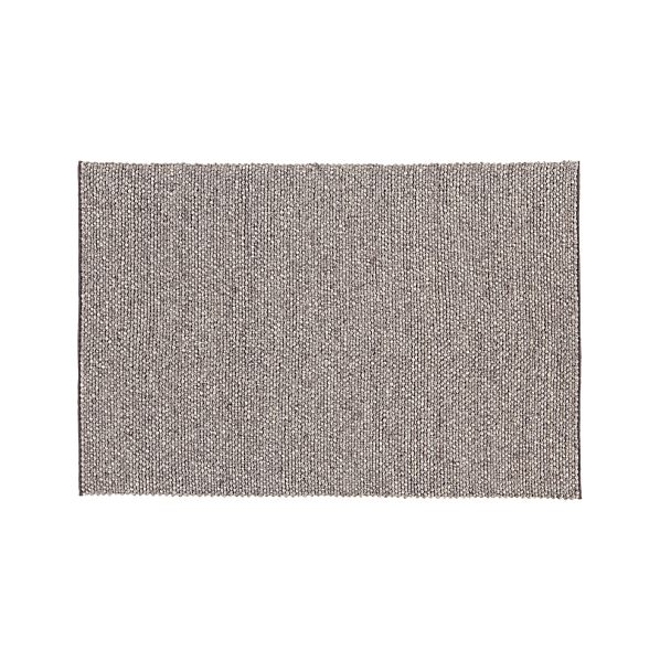 Ivan Natural Felted Wool 5'x8' Rug
