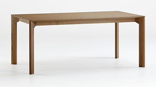 Ivy Rectangle Wood Dining Table