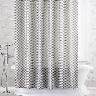 Izet Honeycomb Shower Curtain