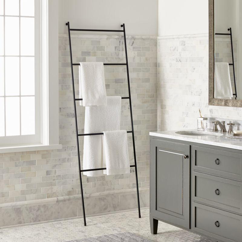 Jackson Black Towel Ladder + Reviews