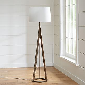 Jackson Dark Brown Tripod Floor Lamp