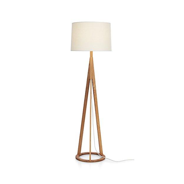 Jackson Floor Lamp In Floor Lamps Reviews Crate And Barrel