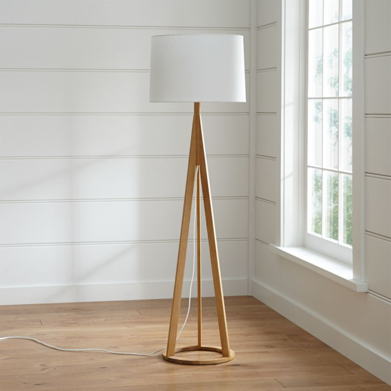Jackson Natural Tripod Floor Lamp Reviews Crate And Barrel
