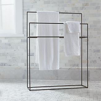 Jackson Standing Towel Rack