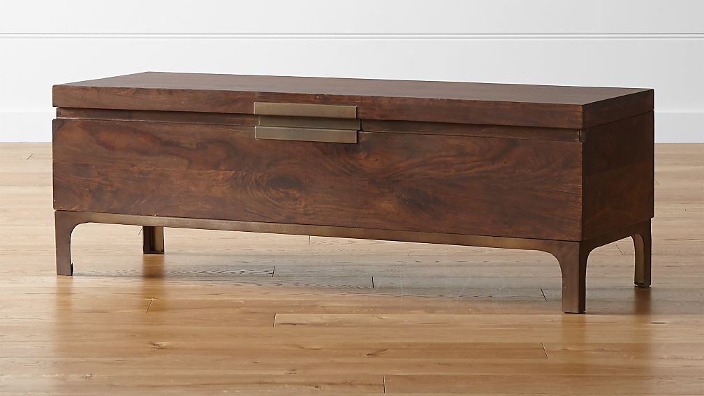 Foyer Bench Quote : Jada trunk crate and barrel