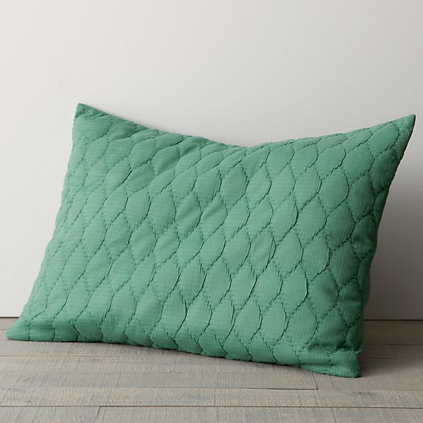 Jade Standard Pillow Sham