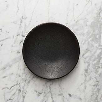 Jars Tourron Black Salad Plate