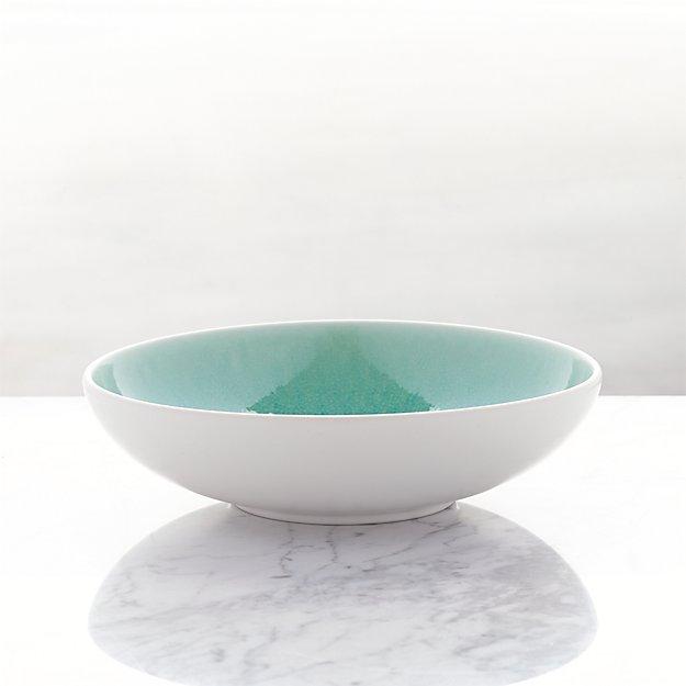 Jars Tourron Aqua Low Bowl