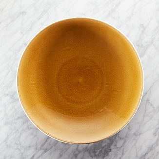 Jars Tourron Amber Platter & Black Dinnerware | Crate and Barrel