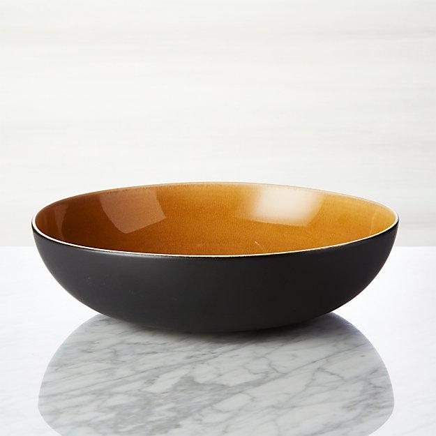 Jars Tourron Amber Serving Bowl - Image 1 of 4