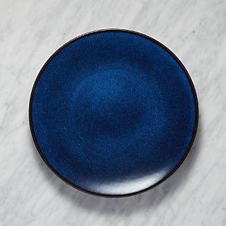 Jars Tourron Blue Dinner Plate