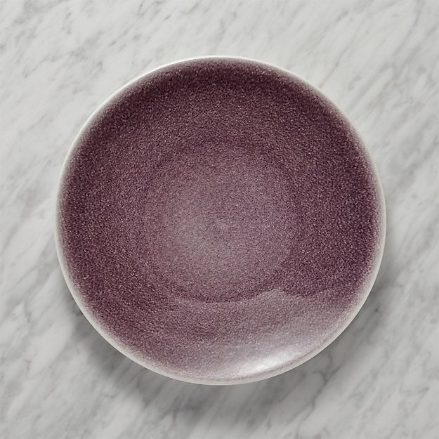 Jars Tourron Purple Dinner Plate