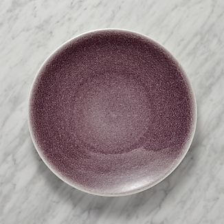 Jars Tourron Purple Dinner Plate & Purple Dinnerware | Crate and Barrel