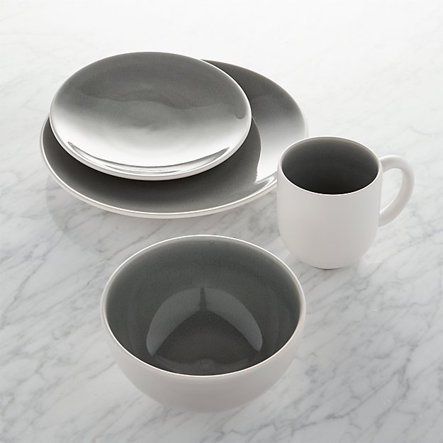 Jars Tourron Grey Dinnerware