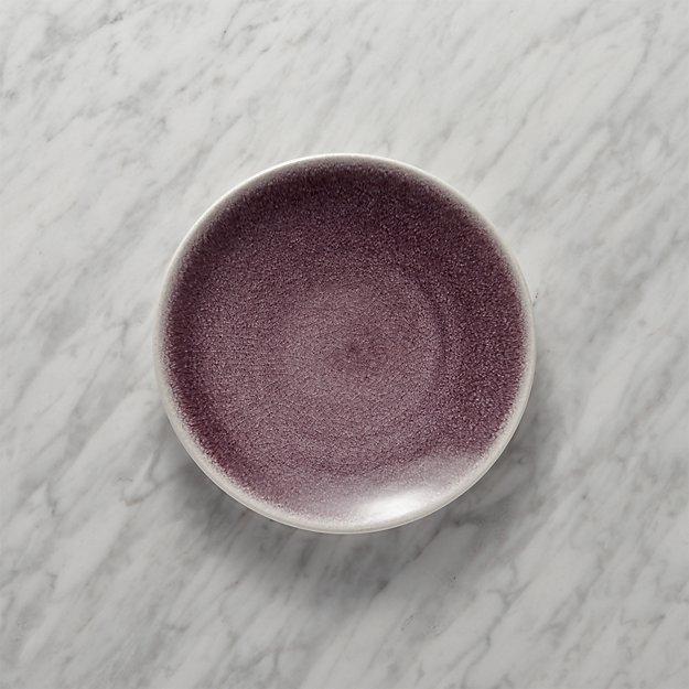 Jars Tourron Purple Salad Plate