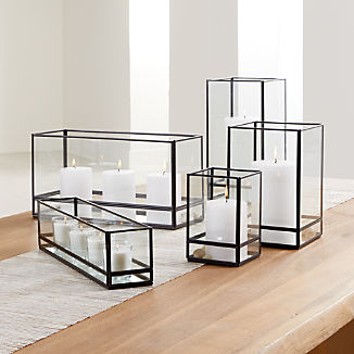 f667059fa4 Candle Holders: Votive, Pillar and Lantern | Crate and Barrel