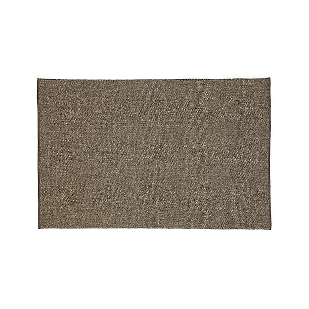 Jasper Grey Wool-Blend 8'x10' Rug