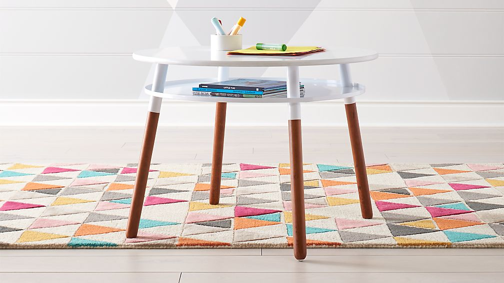 0bc77e5a43b3 Jasper Modern Medium Kids Table + Reviews | Crate and Barrel
