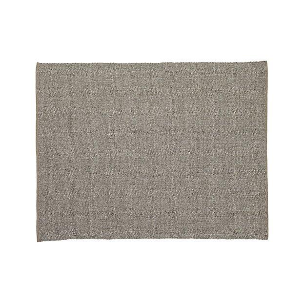 Jasper Taupe Wool-Blend 8'x10' Rug