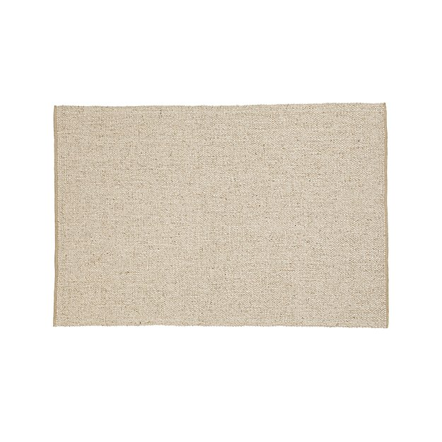 Jasper Wheat Wool-Blend 4'x6' Rug
