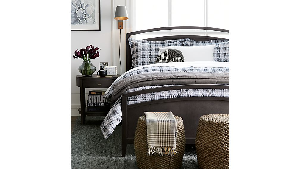 Arch Charcoal Full Bed