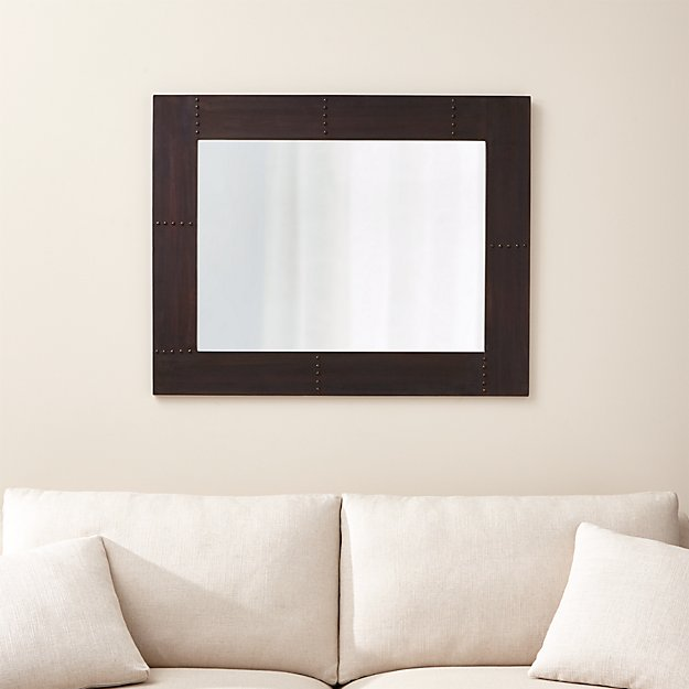 Jaxon Industrial Style Mirror Reviews Crate And Barrel