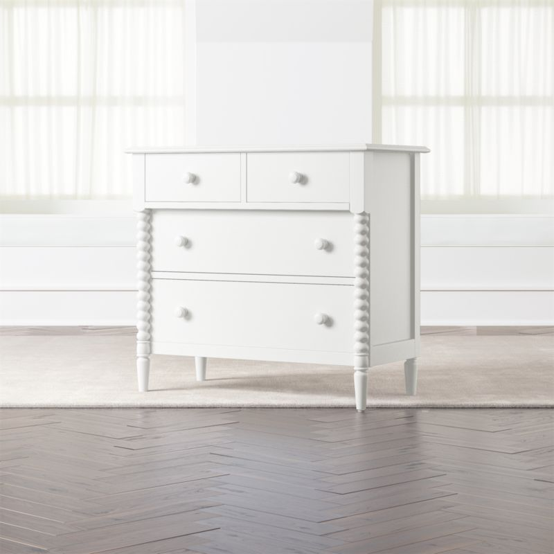 Kids Jenny Lind 4 Drawer White Dresser Crate And Barrel