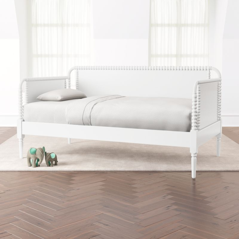 Jenny Lind White Daybed Reviews Crate And Barrel