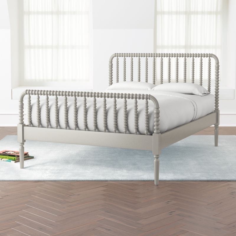 Jenny Lind Grey Full Bed + Reviews