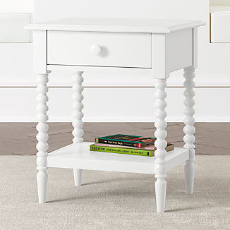 Kids Jenny Lind White Nightstand