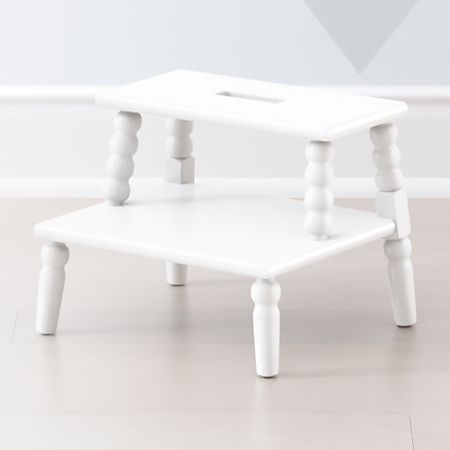 Remarkable Jenny Lind White Step Stool Pabps2019 Chair Design Images Pabps2019Com