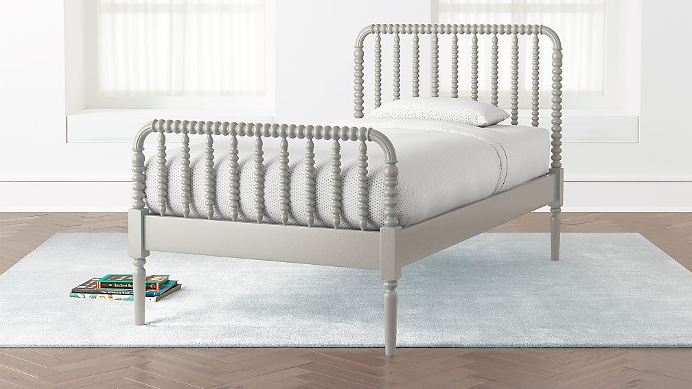 Jenny Lind Grey Bed Crate And Barrel